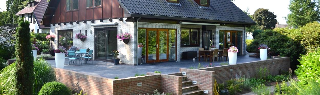 Verbouwing villa inclusief terras – Bouwbedrijf van Zeeburg