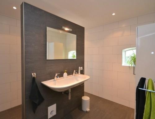 Verbouwing badkamer